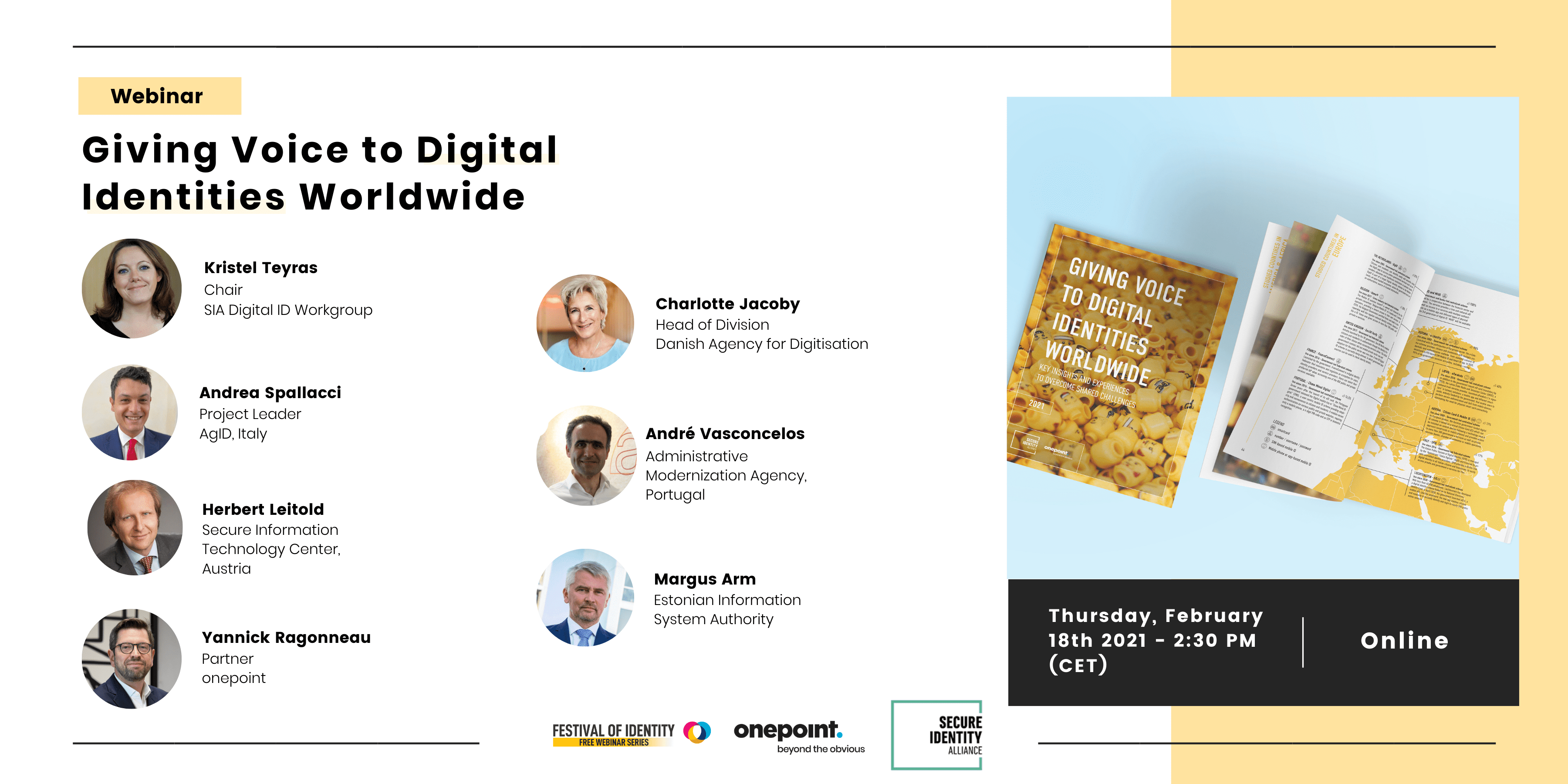 Webinar to discuss the report on the 18th of February, 2021