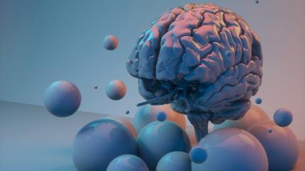 Formes en 3D représentant l'intelligence collective