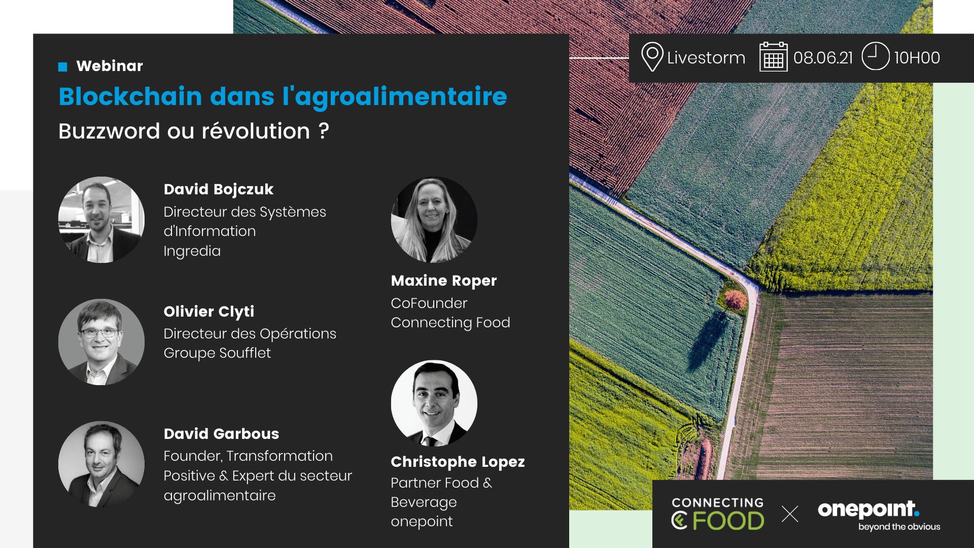 La Blockchain dans l'agroalimentaire , Buzzword ou Révolution ?